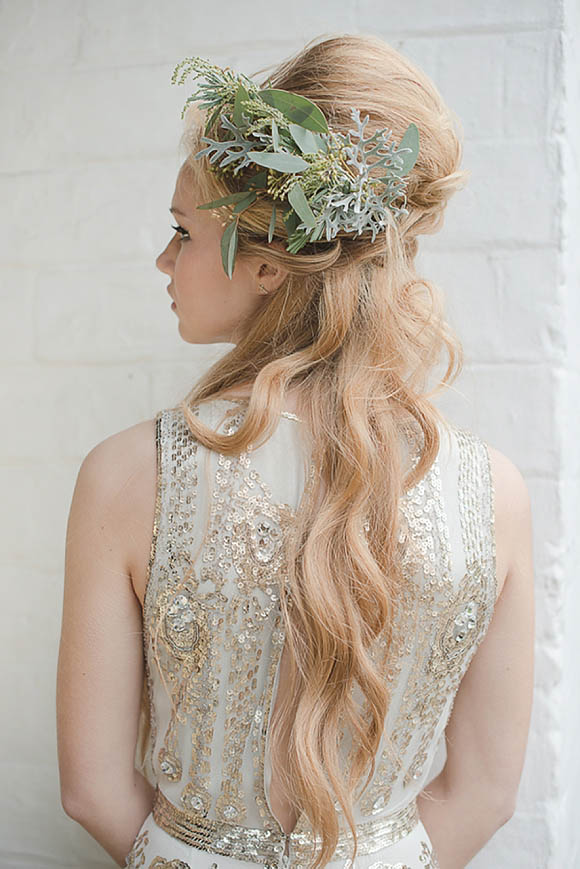 Jenny Packham Glamour with Miss Bush Bridal at The Talbot Inn Wedding Showcase (Bridal Fashion )