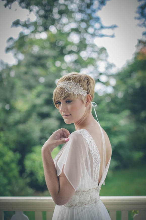 Claire Pettibone's 'Windsor Rose China' Collection Meets 'Divine Deco and Floral Fantasy' by Debbie Carlilse... (Bridal Fashion )
