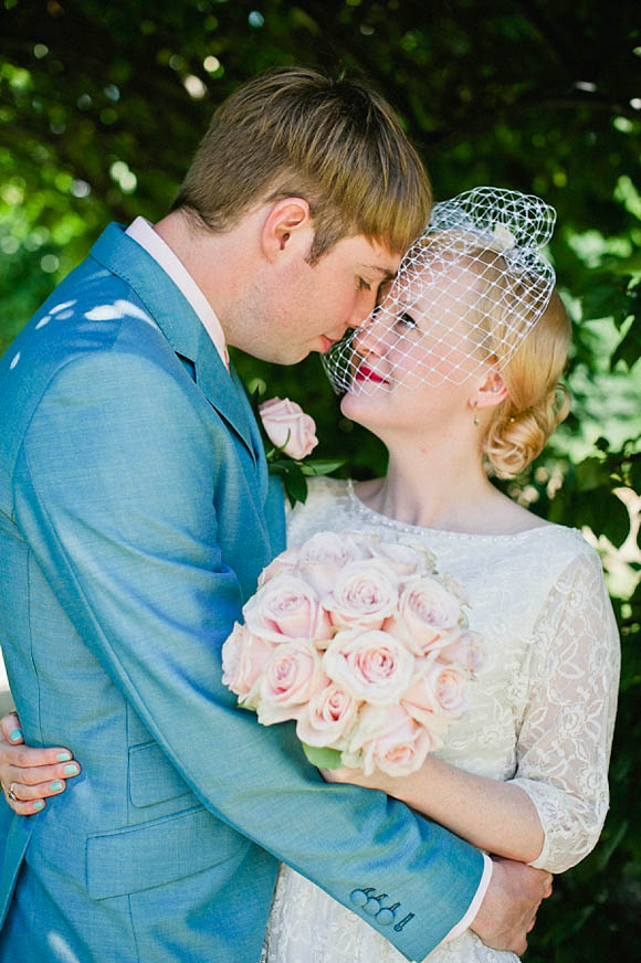 A Bright, Rainbow Coloured 1950's Inspired Wedding (Weddings )