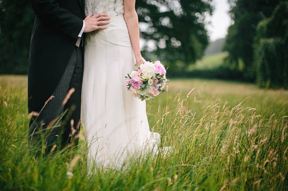 Jenny Packham wedding dress, farm wedding