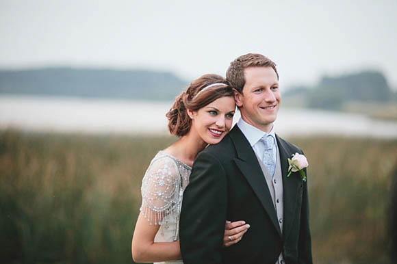 Pale Blue and Pretty Maids and an Elegant Jenny Packham 'Damask' Bride... (Weddings )