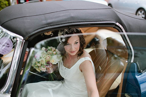 A Delicate Handmade Headpiece for an Agatha Christie Poirot Inspired Wedding.... (Weddings )