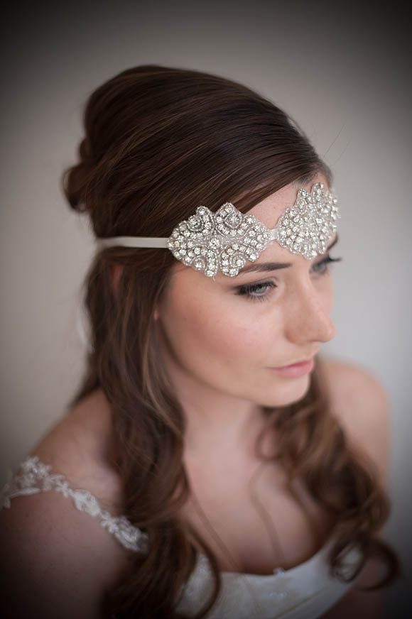 Vintage inspired wedding accessories and headpieces by Chez Bec