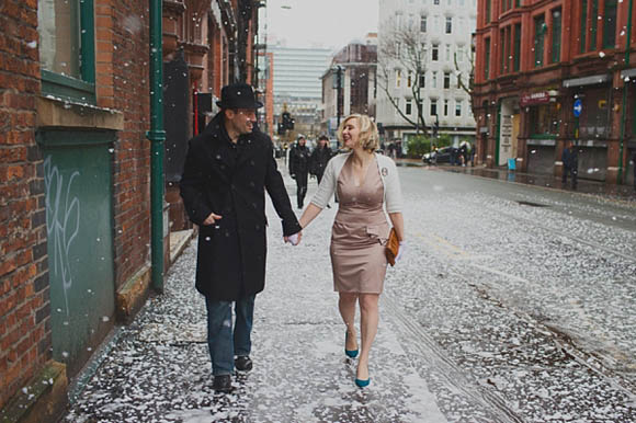 A Victoria Baths Manchester Engagement Shoot Photography by Hannah Millard