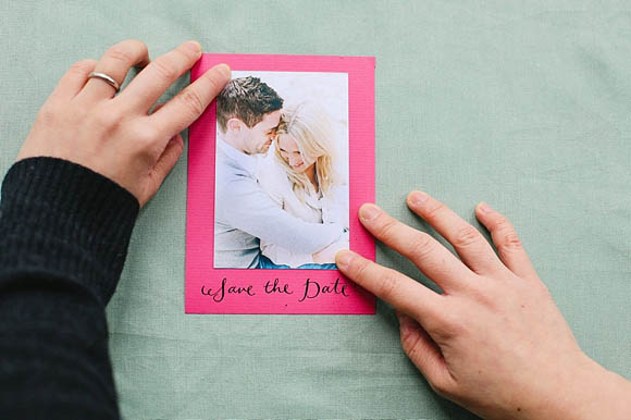 How To Create Pretty Paper XOXO Save The Date Cards (DIY Projects )