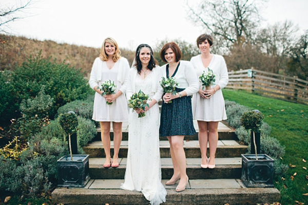 Callie by Jenny Packham For A Rustic Inspired Barn Wedding (Weddings )