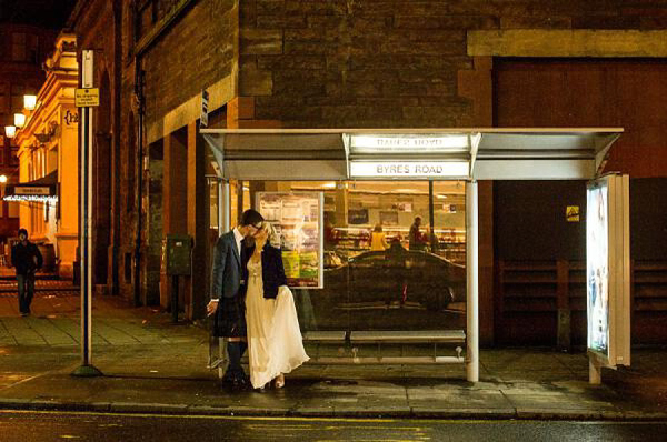 Crystal by Jenny Packham Glasgow wedding