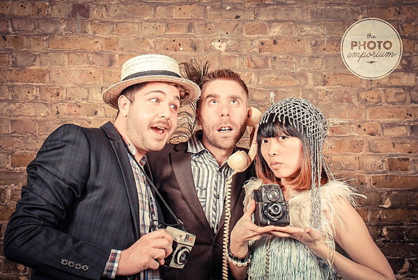 The Photo Emporium Photobooth Pics From The Style Me Vintage Weddings Book Launch Party Corbet Place The Old Truman Brewery Shoreditch London