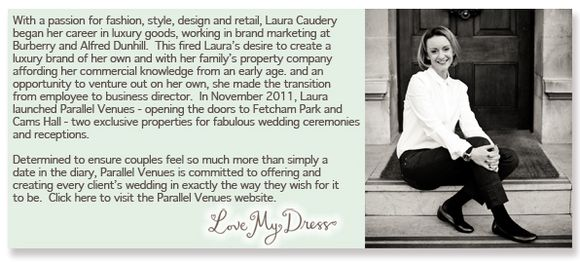 Laura Caudery of Parallel Venues - click here to visit the website