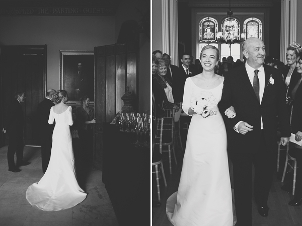 Understated Elegance ~ A Jesús Peiró Gown For a Nonsuch Mansion Wedding in Surrey (Weddings )