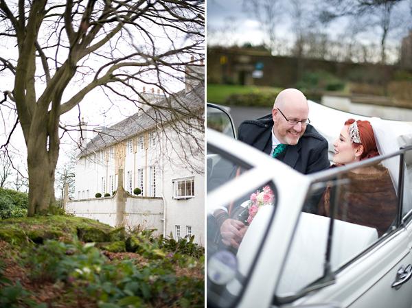 A 1920s Inspired 'House For An Art Lover' Wedding (Weddings )