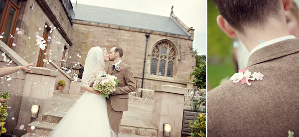 A Tara Keeley Gown For A Wedding Full Of Eclectic, Elegant and Vintage Inspired Touches (Weddings )