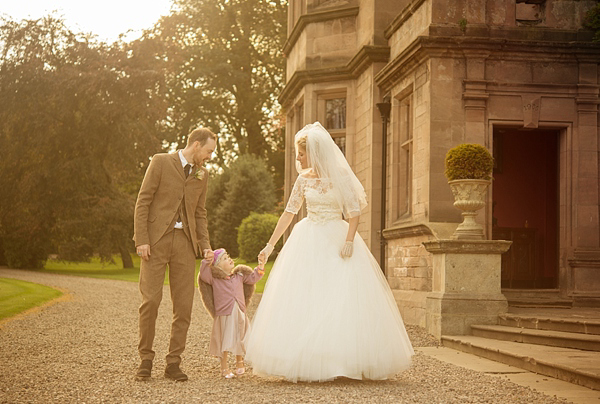 Tara Keeley wedding dress Ellingham Hall wedding