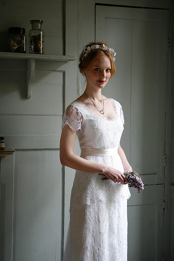 Turning Vintage Inspiration In To Modern Bridal Elegance, With Sally Lacock and Cherished Vintage Accessories (Bridal Fashion )
