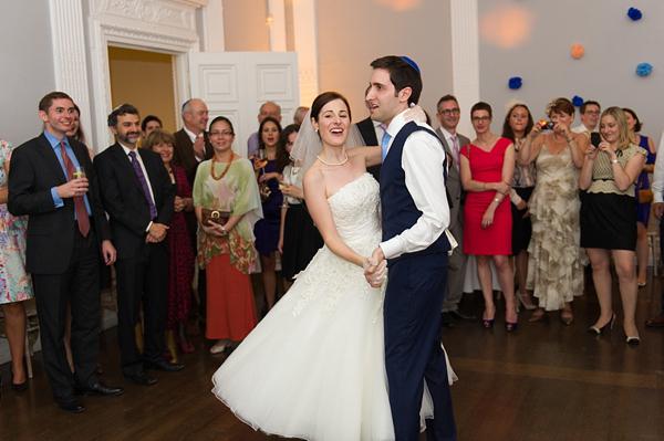 A Mid-Century Inspired, Modern and Elegant Jewish Wedding Ceremony (Weddings )