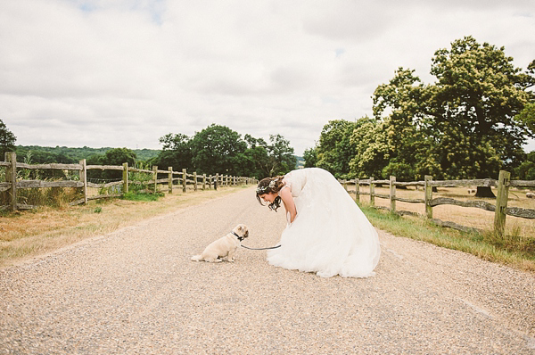 Gaynes Park Wedding, Flower Crown Bride, Ellie Gillard Photography