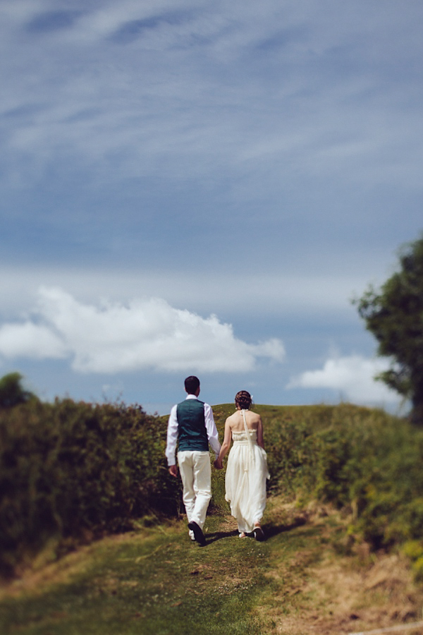 An Organic Cotton And Hemp Dress For An Ethically Sourced, Environmentally Friendly, Vegan Wedding (Weddings )
