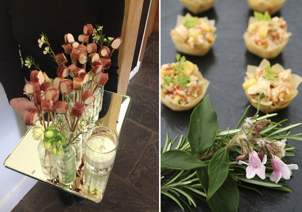 The reinvention of the canap s by kalm kitchen love my for Perspex canape trays