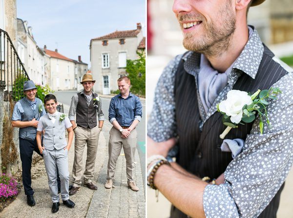 A Pretty and Relaxed French Garden Party Wedding (Weddings )