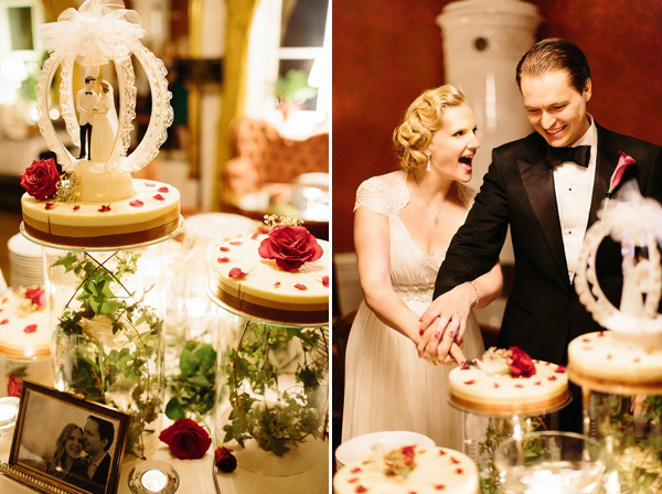 Black Tie and Jenny Packham For An Old Hollywood, Roaring 20's Vintage Inspired Wedding (Weddings )