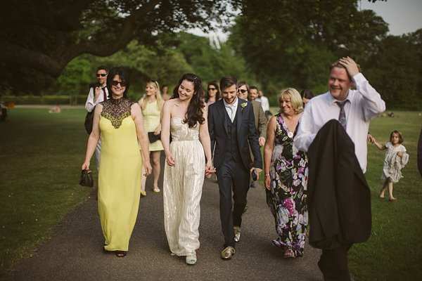 A Mint Green And Gold Inspired Laid Back London Wedding (Weddings )