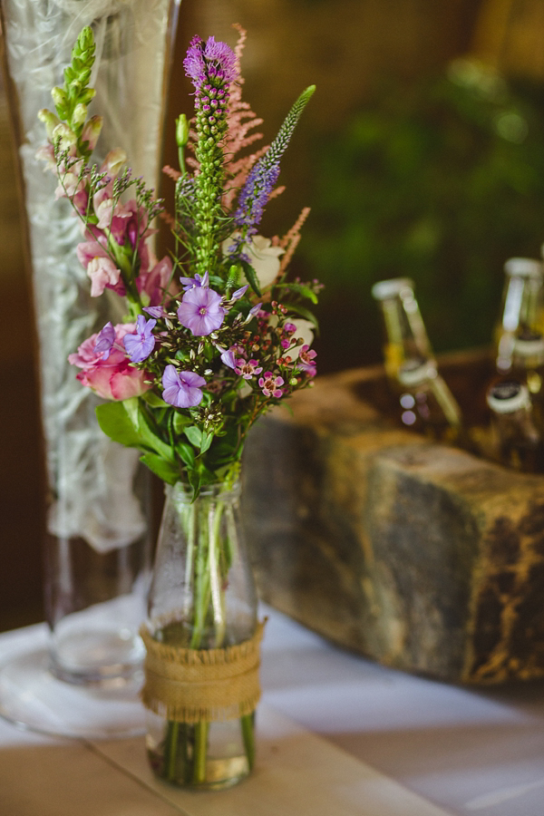 Floral Heaven and Rustic Charm for a Maggie Sottero Bride (Weddings )