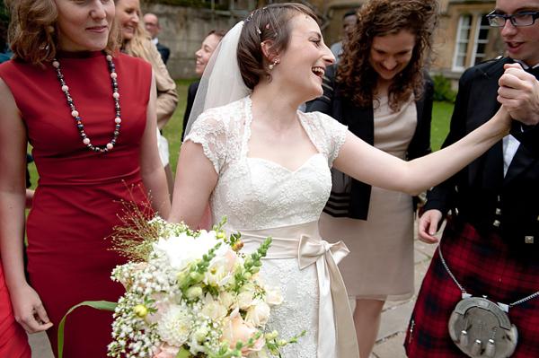 An Elegant Black Tie Oxford University Wedding (Weddings )
