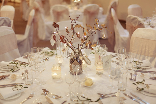 Parma Opal by Jenny Packham, Winter wedding, Christmas wedding