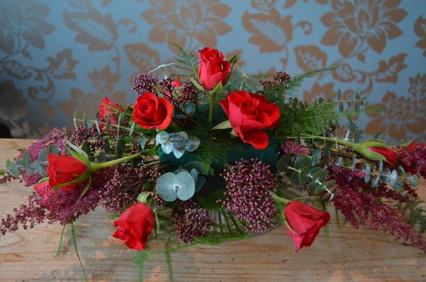 Christmas Table Centrepiece DIY Tuturial by Campbells Flowers-15