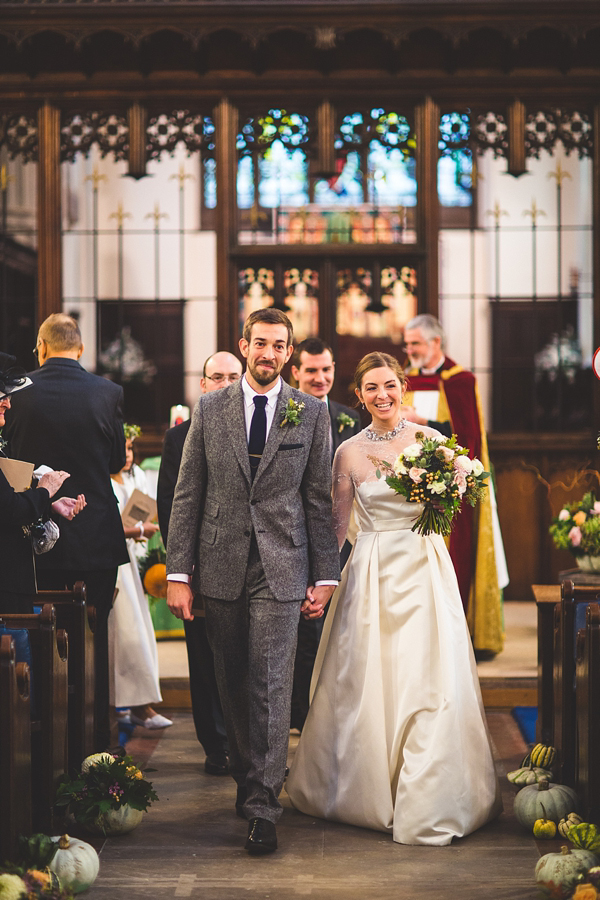 1950s and 1960s mustard yellow Autumn wedding, Images by S6 Photography