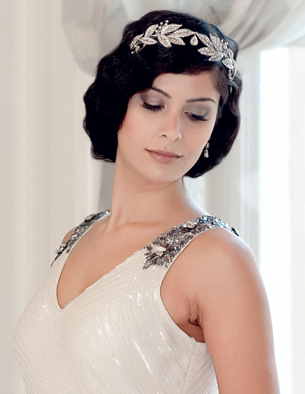 Twenties bob vintage wedding Hairstyle
