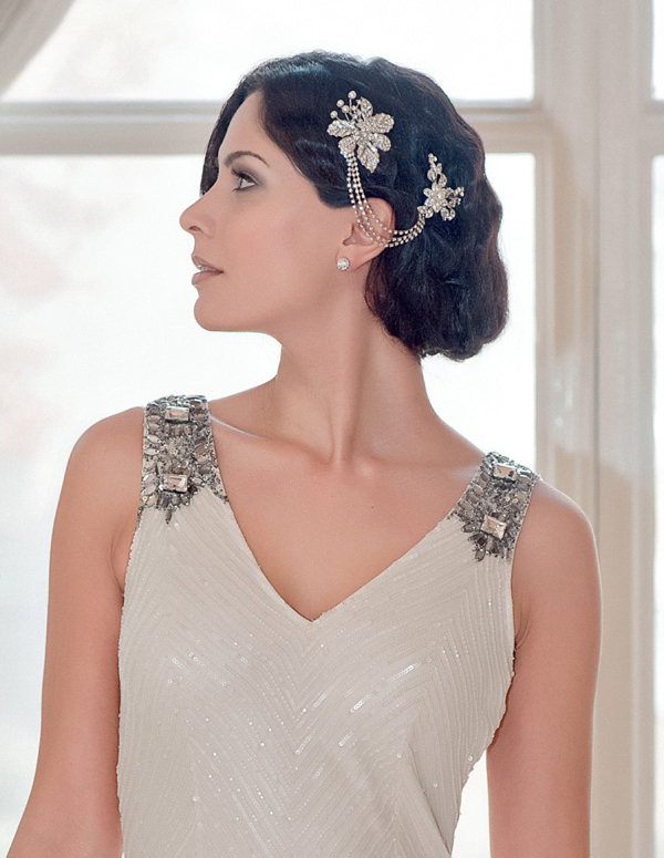 Glitzy Secrets Twenties Heirloom ~ Exquisite Art Deco, 1920s Inspired Bridal Headpieces (Weddings )