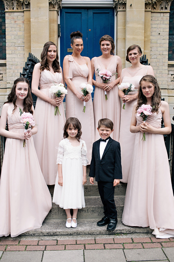 Shades of Pale Pink, Peach and a Pronovias Gown for a Classic and Elegant English Wedding (Weddings )