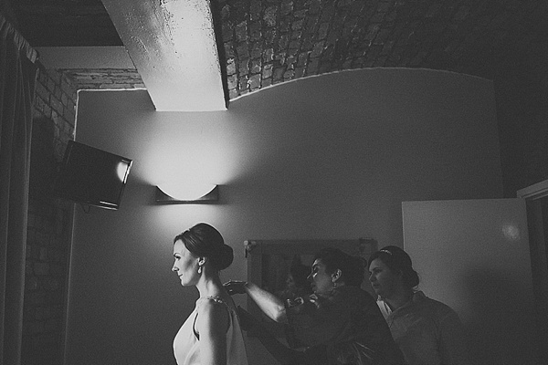 A Glamorous And Backless Enzoani Wedding Dress For A