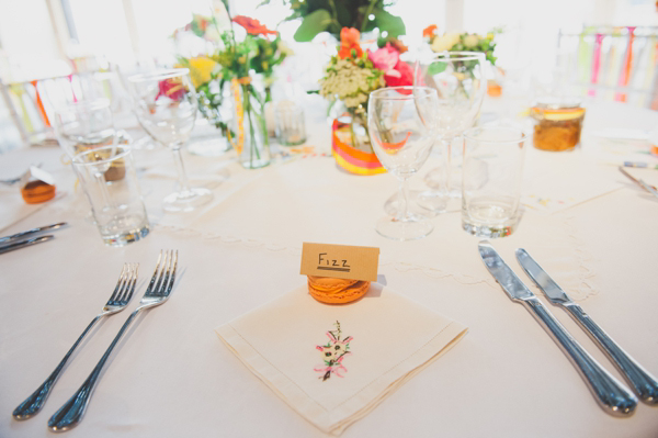 Colourful and quirky 1950s retro wedding