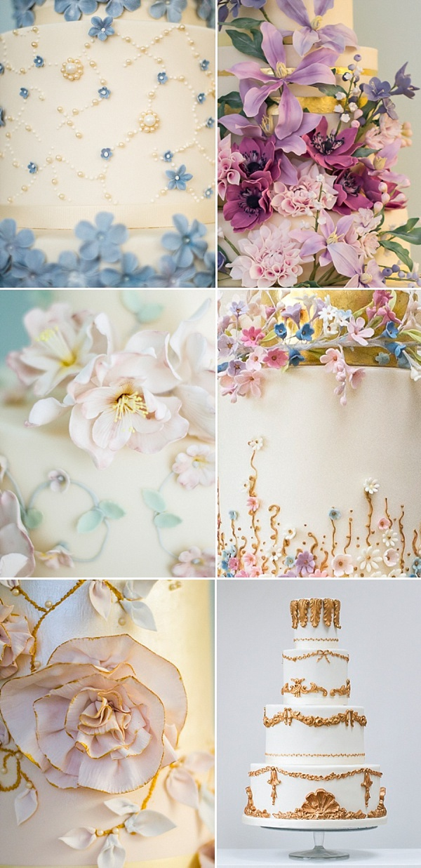Rosalind Miller Cakes ~ Beautifully Decorated and Delicious Award Winning Wedding Cakes (Get Inspired Supplier Spotlight )