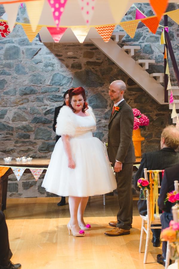 Colourful quirky 1950s retro wedding-28