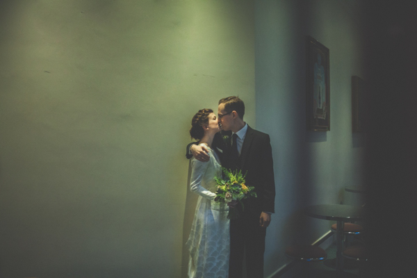 A Japanese Kimono and Original 1930s Vintage Gown for a Lost In Translation Inspired Wedding (Weddings )