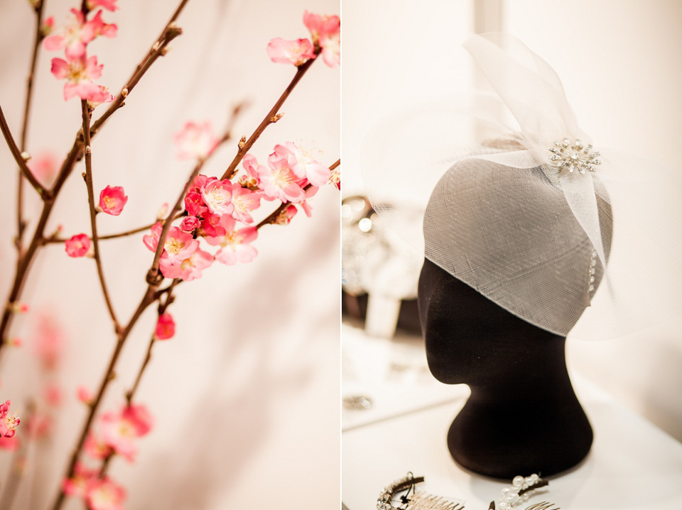 HT Headwear wedding accessories at The White Gallery, London, April 2014