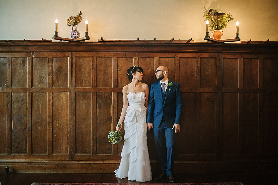 A Temperley Bridal Gown for an Autumnal Fruits and Flowers Inspired Wedding (Weddings )