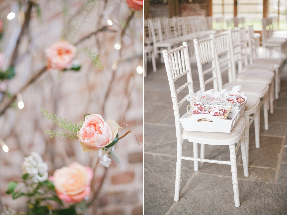 A Relaxed and Elegant Coral Colour Summer Wedding (Weddings )