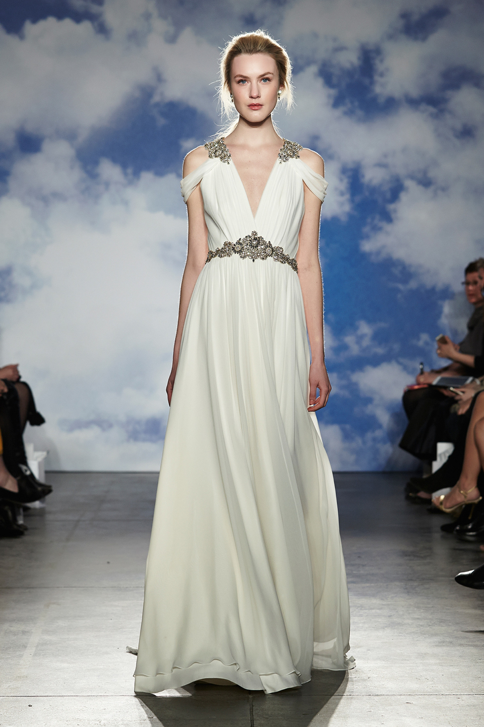 Jenny Packham 2015 Bridal Wear Collection, as showecased at New York Bridal Market, April 2014