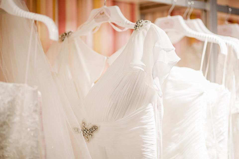 Charlotte Balbier wedding dresses at The White Gallery, London, April 2014