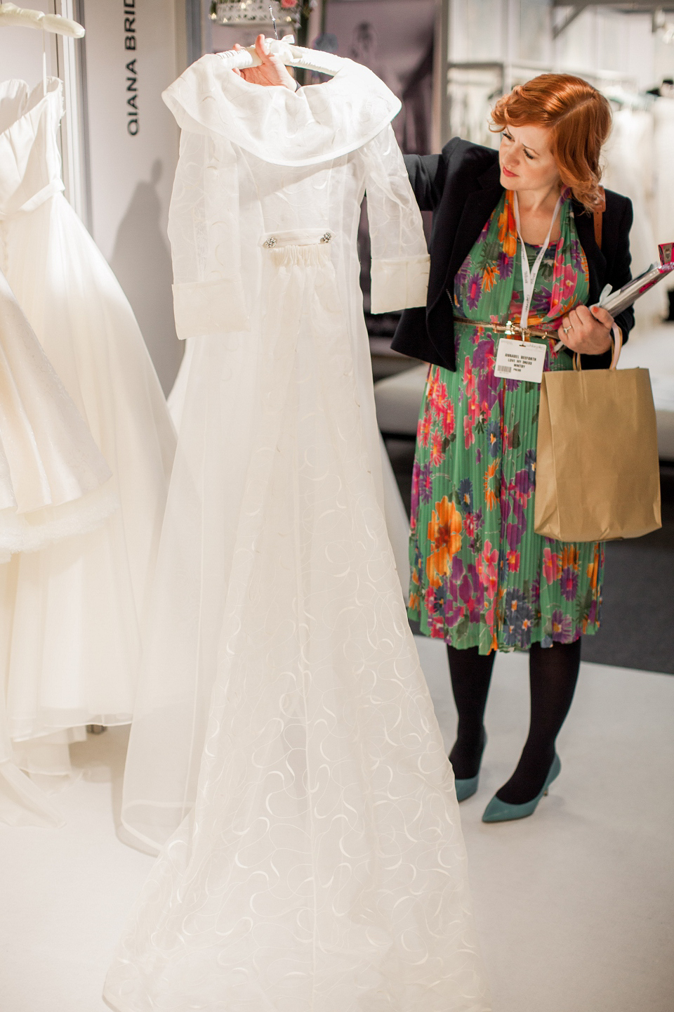 Qiana Bride at The White Gallery, London, April 2014