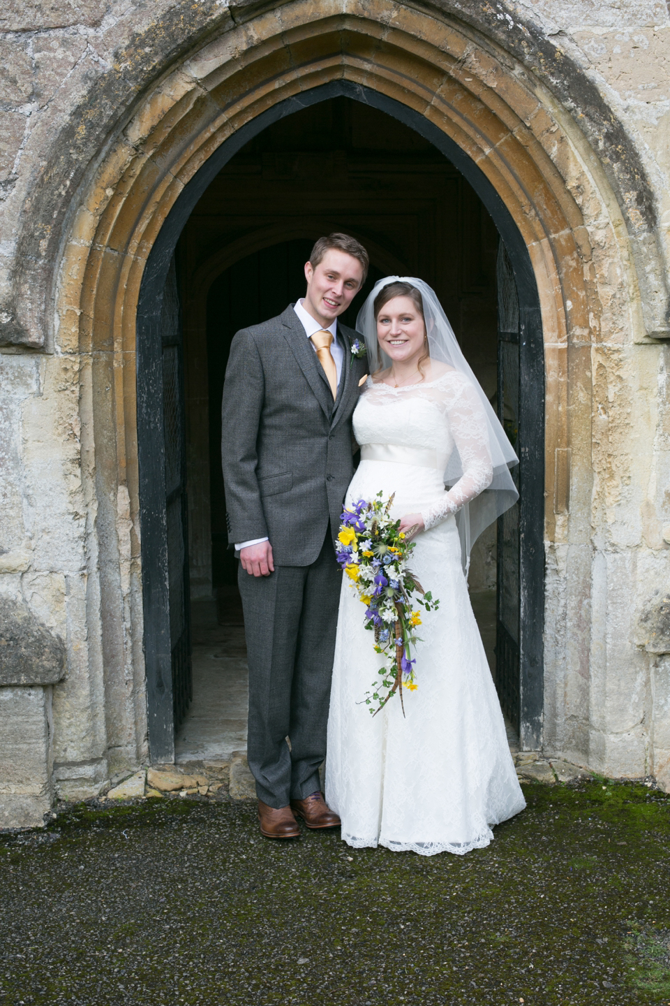 A Lovely Relaxed Late Winter Wedding for a Pregnant Bride and her Beau (Weddings )