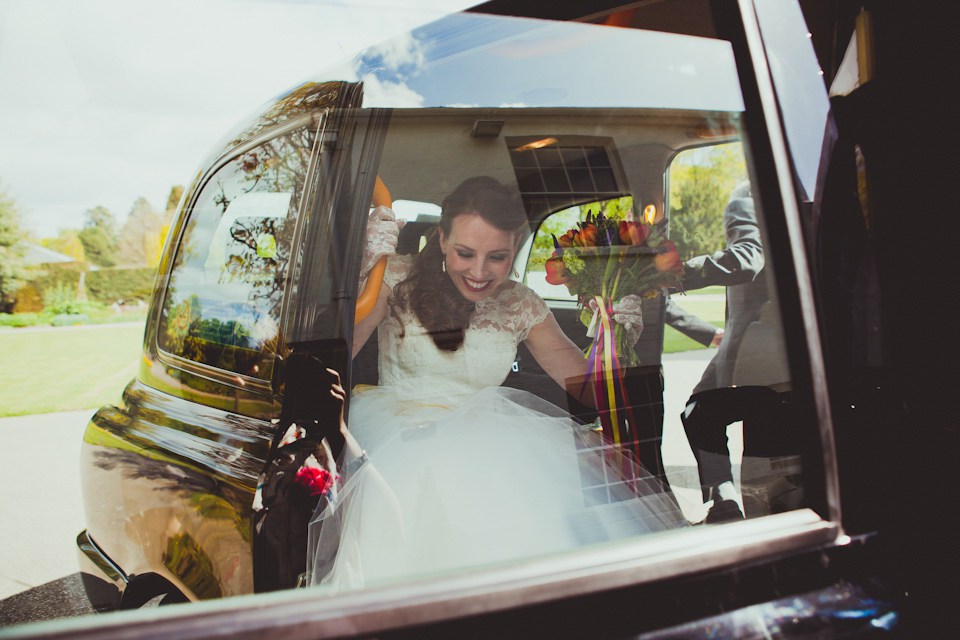 A 50's Inspired Candy Anthony Frock For A Colourful Wedding at Pembroke Lodge (Weddings )