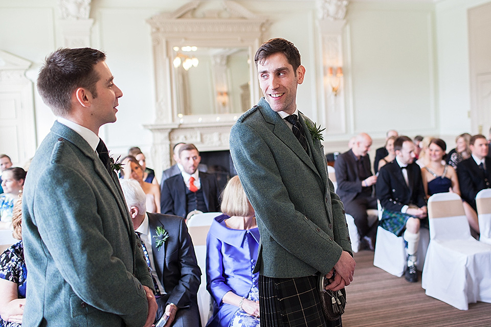 Charlie Brear Glamour For a City-Chic Style Wedding in Edinburgh (Weddings )