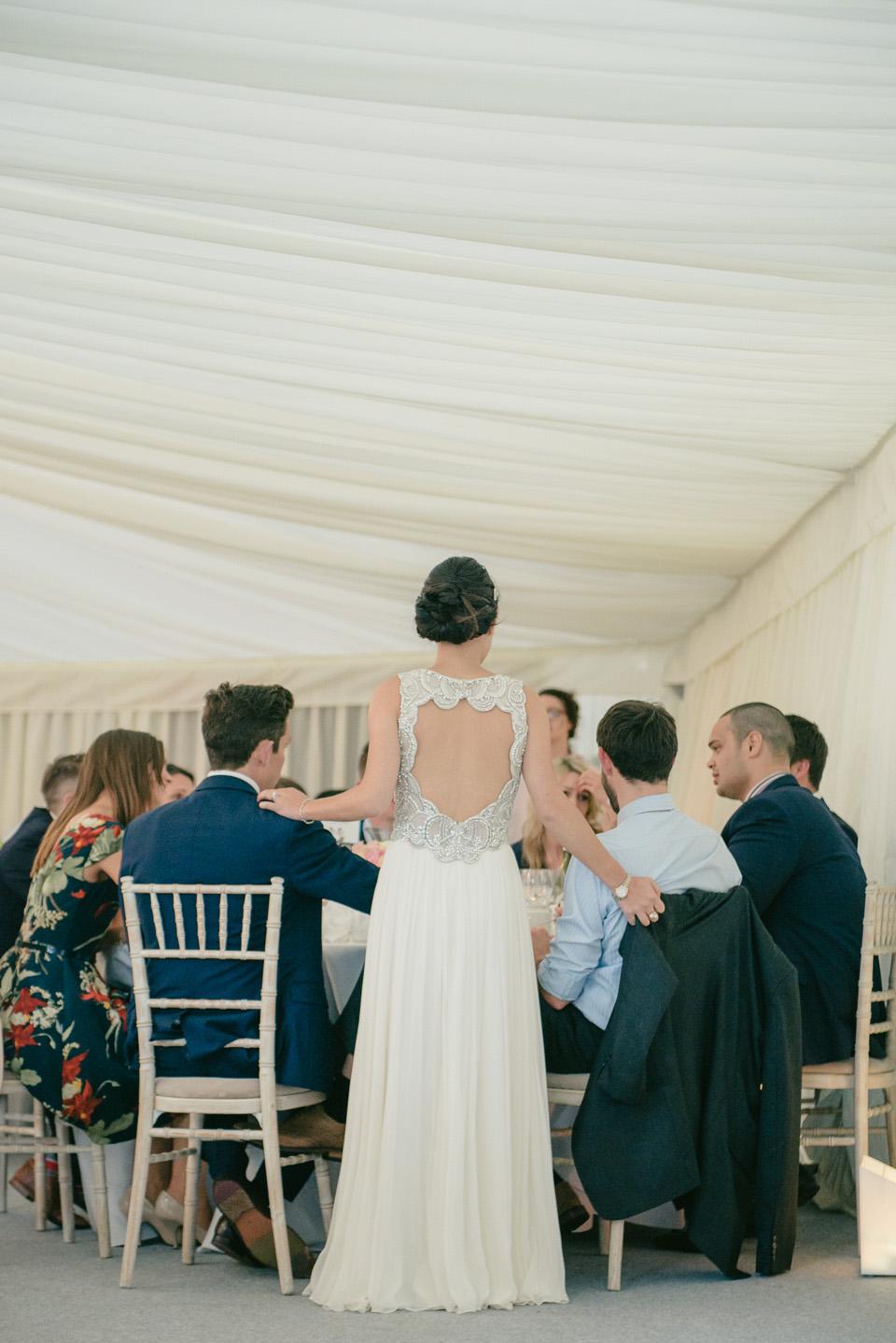 Jenny Packham For A Classy and Elegant Celebration at Sezincote House (Weddings )