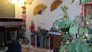 Her home studio