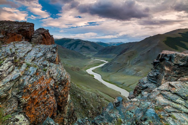 Пейзажи Монголии